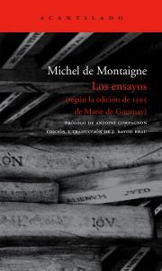Michel de Montaigne: Ensayos