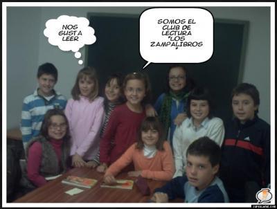 Club de lectura Los Zampalibros